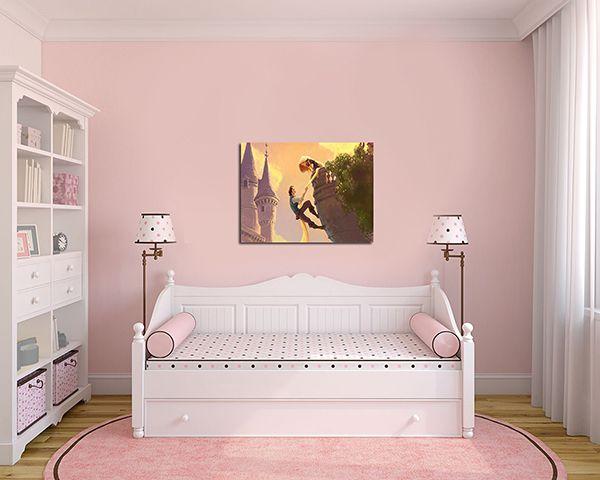 Quadro Decorativo Rapunzel 0001