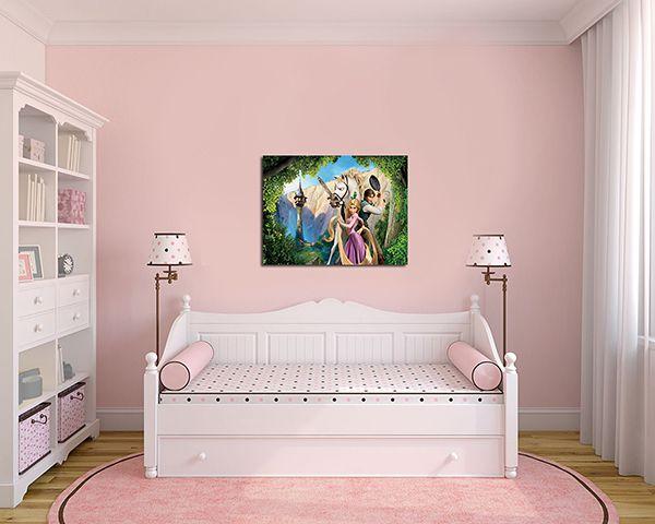 Quadro Decorativo Rapunzel 0002
