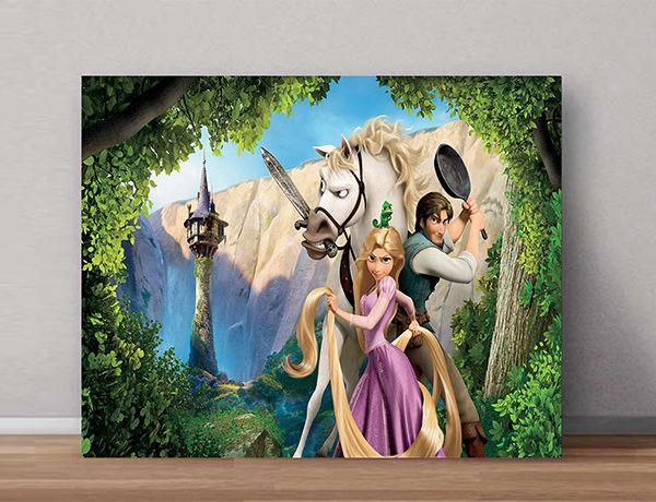 Quadro Decorativo Rapunzel 0002  - Paredes Decoradas