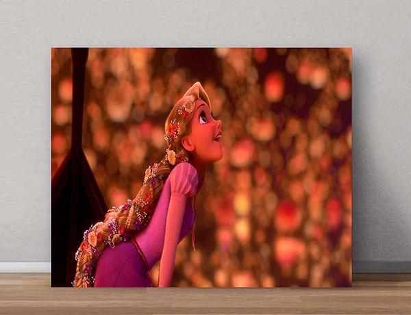 Quadro Decorativo Rapunzel 0003  - Paredes Decoradas
