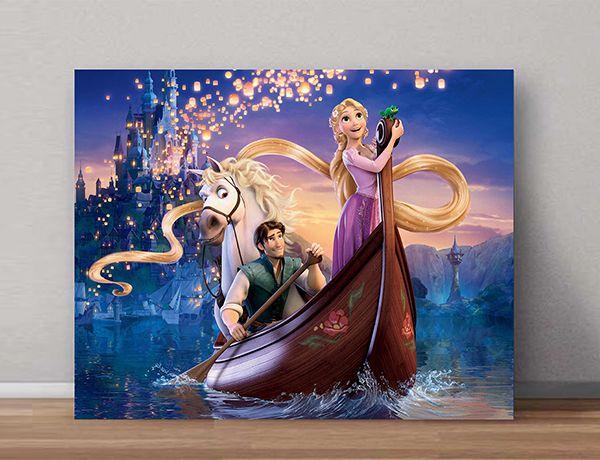Quadro Decorativo Rapunzel 0006  - Paredes Decoradas
