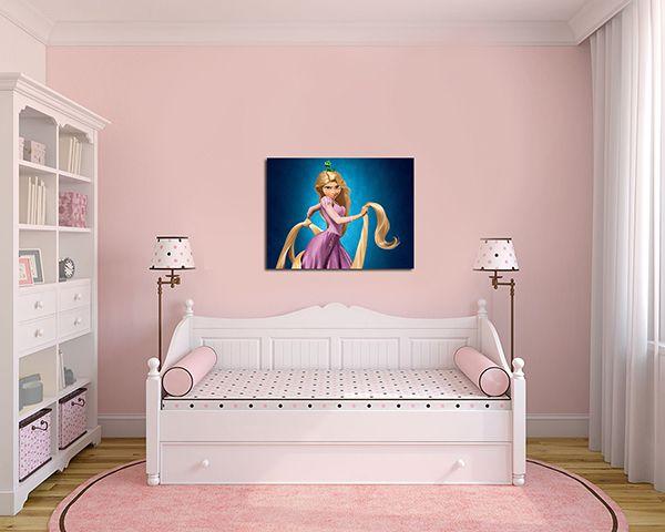 Quadro Decorativo Rapunzel 0008