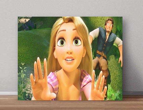 Quadro Decorativo Rapunzel 0010  - Paredes Decoradas