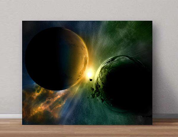 Quadro Decorativo Universo 0004  - Paredes Decoradas