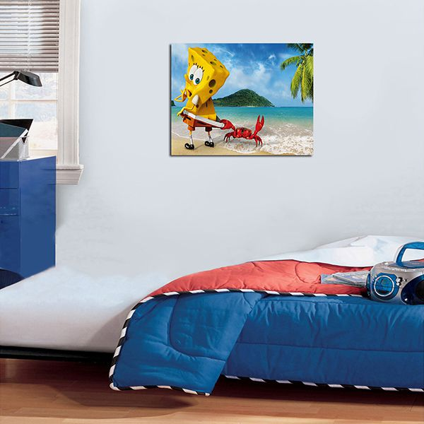 Quadro Decorativos Bob Esponja 0005