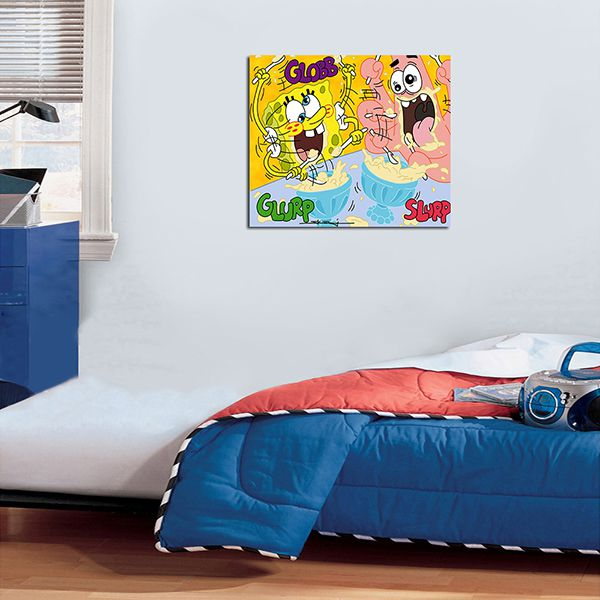 Quadro Decorativos Bob Esponja 0011  - Paredes Decoradas