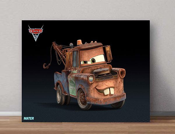 Quadro Decorativos Carros 0015  - Paredes Decoradas