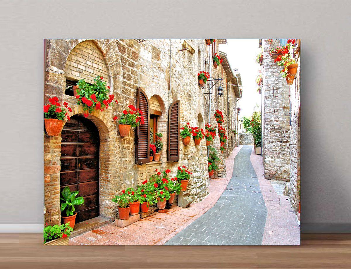 Quadro Decorativos de Cidades 0047  - Paredes Decoradas