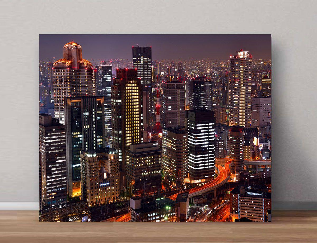 Quadro Decorativos de Cidades 0060  - Paredes Decoradas
