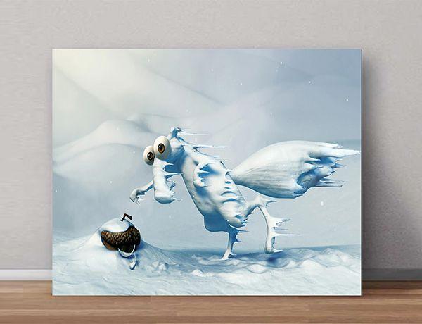 Quadro Decorativos Era do Gelo 0011  - Paredes Decoradas