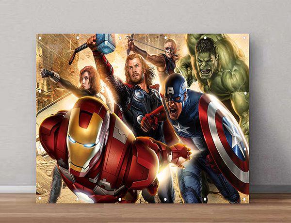 Quadro Decorativos Heróis 0007  - Paredes Decoradas