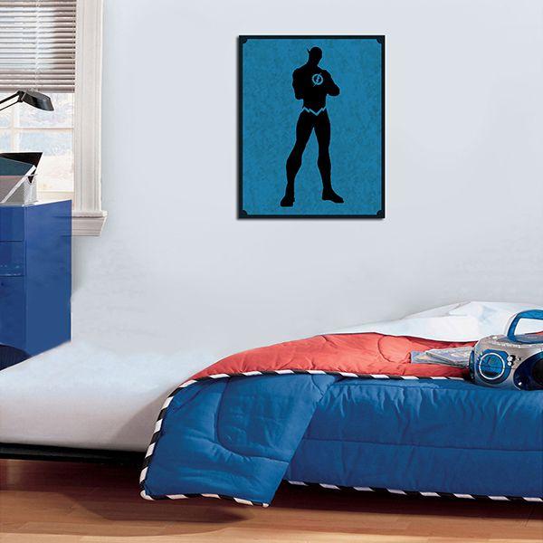 Quadro Decorativos Heróis 0071