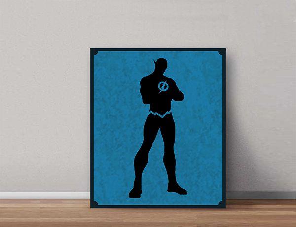Quadro Decorativos Heróis 0071  - Paredes Decoradas