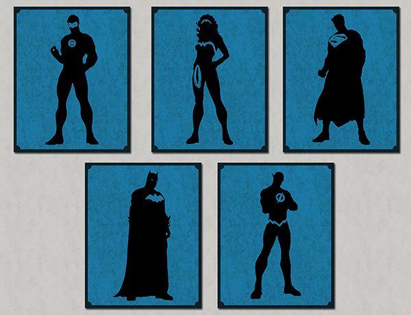 Quadro Decorativos Heróis 0076  - Paredes Decoradas