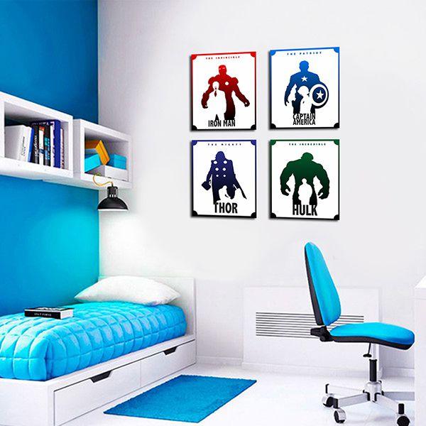 Quadro Decorativos Heróis 0077