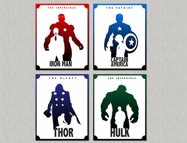Quadro Decorativos Heróis 0077  - Paredes Decoradas