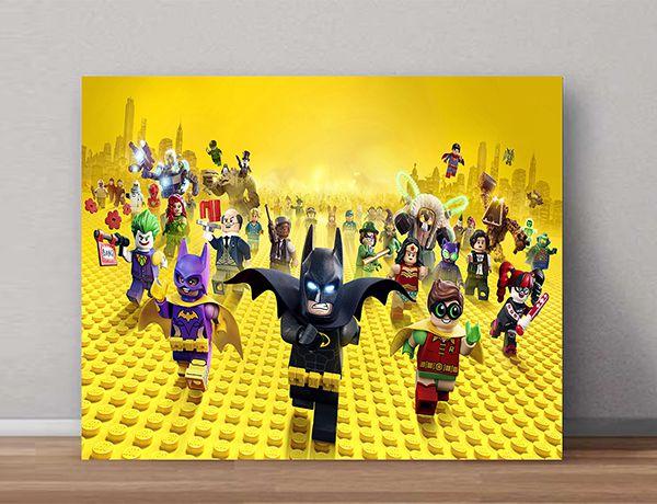 Quadro Decorativos Lego 0002  - Paredes Decoradas