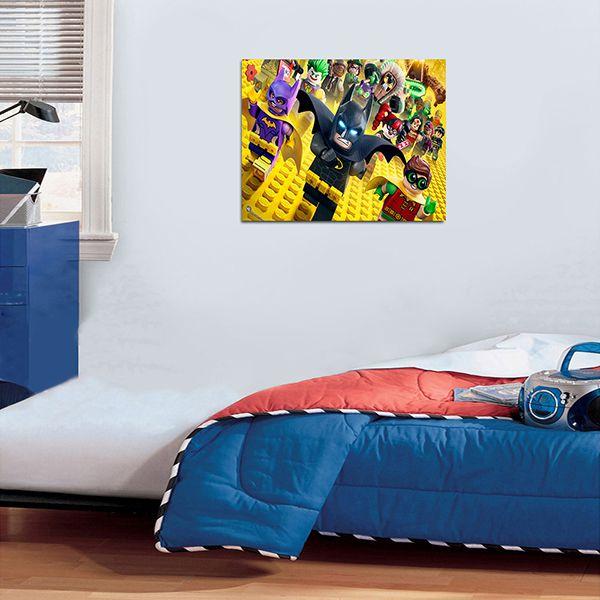 Quadro Decorativos Lego 0004  - Paredes Decoradas