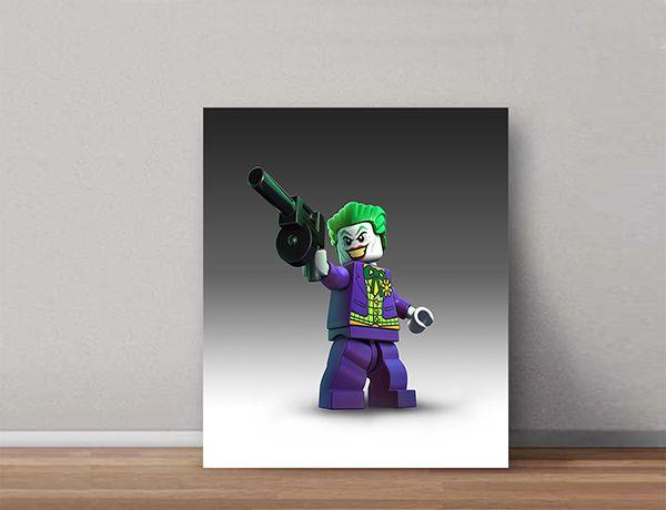 Quadro Decorativos Lego 0008  - Paredes Decoradas