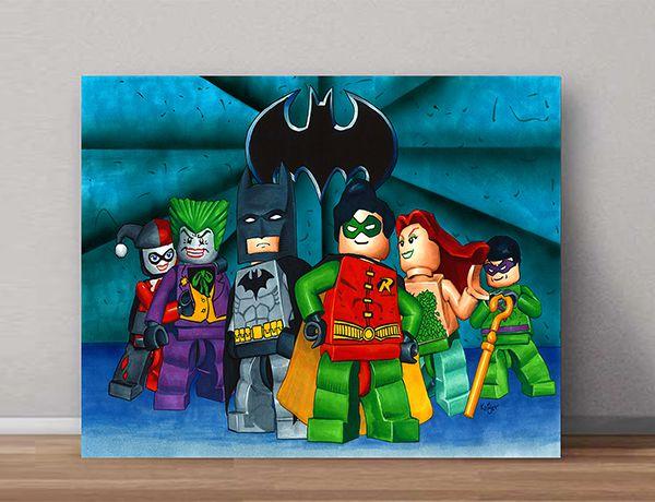 Quadro Decorativos Lego 0009  - Paredes Decoradas