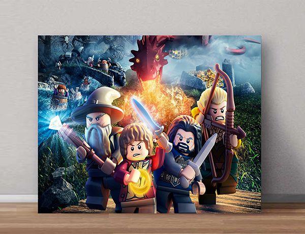 Quadro Decorativos Lego 0012  - Paredes Decoradas