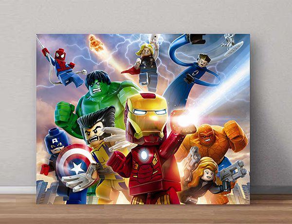 Quadro Decorativos Lego 0014  - Paredes Decoradas