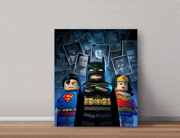 Quadro Decorativos Lego 0021  - Paredes Decoradas