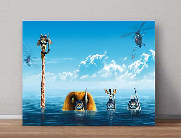 Quadro Decorativos Madagascar 0001  - Paredes Decoradas