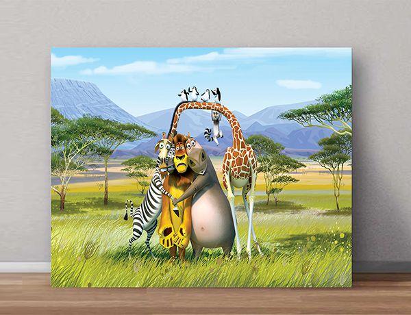 Quadro Decorativos Madagascar 0007  - Paredes Decoradas
