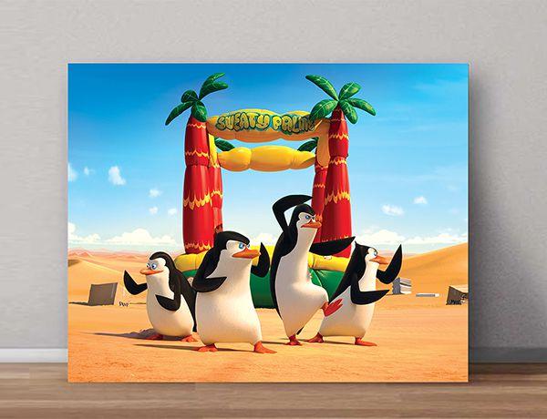 Quadro Decorativos Madagascar 0010  - Paredes Decoradas