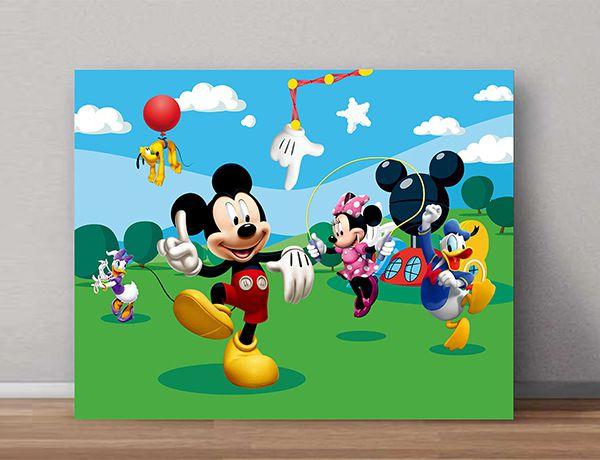 Quadro Decorativos Mickey 0001  - Paredes Decoradas