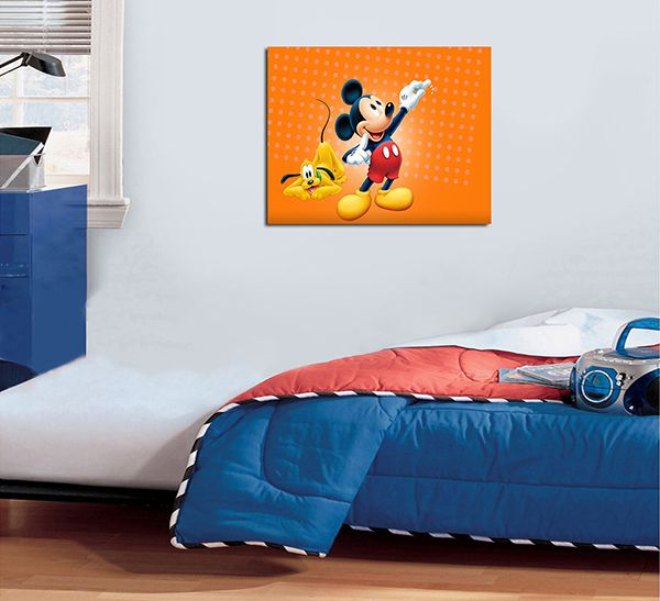 Quadro Decorativos Mickey 0002  - Paredes Decoradas