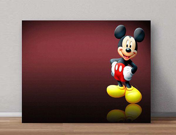 Quadro Decorativos Mickey 0003  - Paredes Decoradas