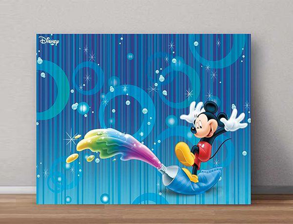 Quadro Decorativos Mickey 0004  - Paredes Decoradas