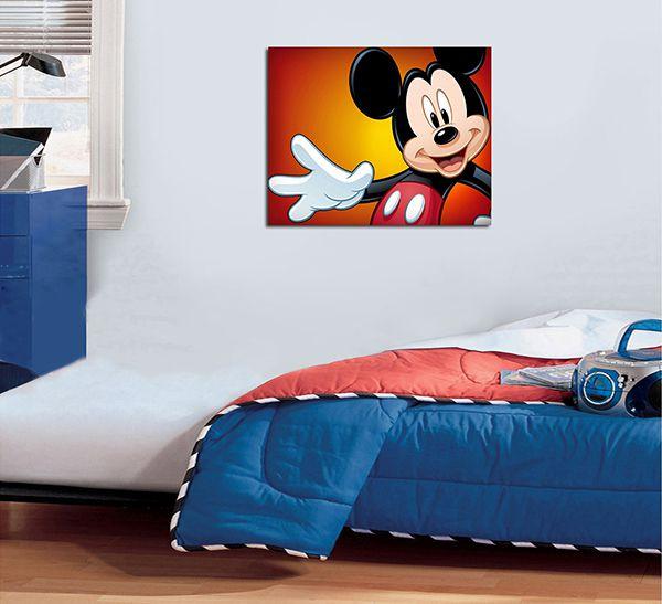 Quadro Decorativos Mickey 0005  - Paredes Decoradas