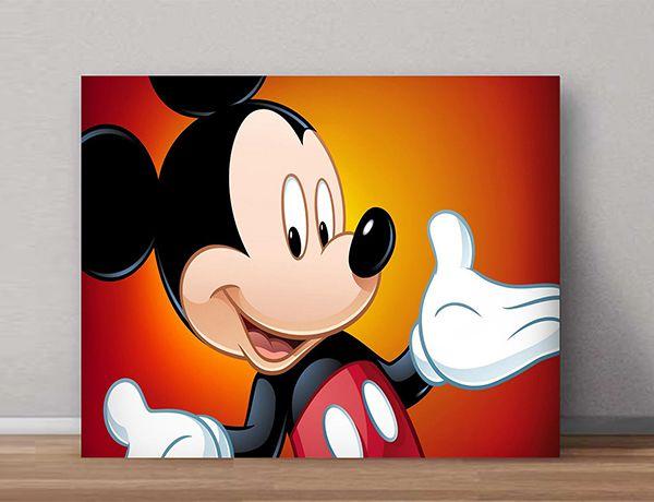 Quadro Decorativos Mickey 0006  - Paredes Decoradas