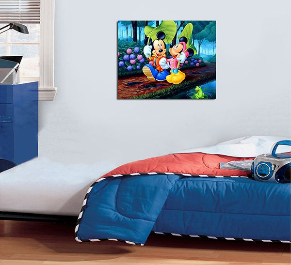 Quadro Decorativos Mickey 0007