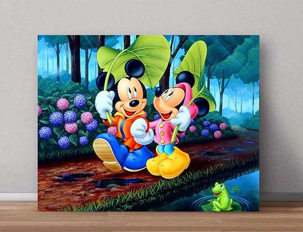 Quadro Decorativos Mickey 0007  - Paredes Decoradas