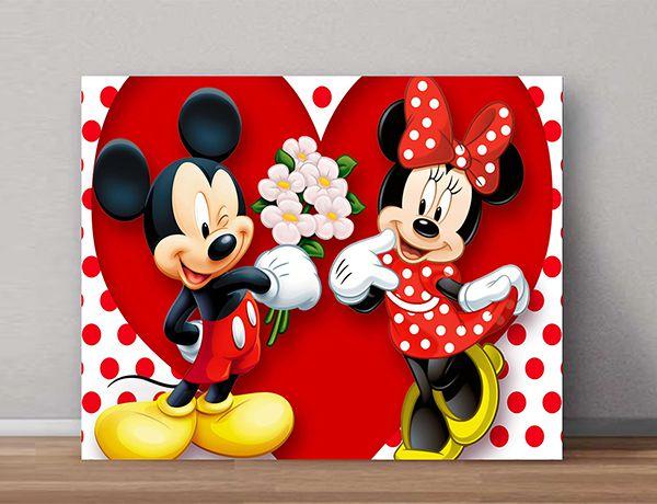 Quadro Decorativos Mickey 0008  - Paredes Decoradas