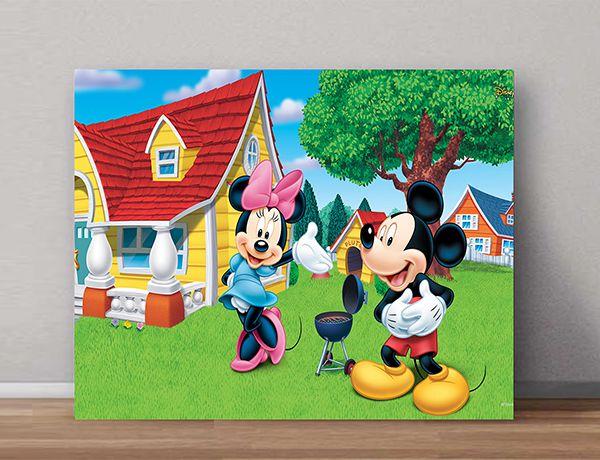 Quadro Decorativos Mickey 0009  - Paredes Decoradas