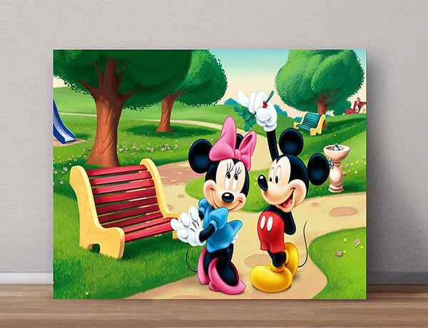 Quadro Decorativos Mickey 0010  - Paredes Decoradas