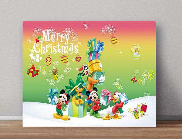 Quadro Decorativos Mickey 0011  - Paredes Decoradas