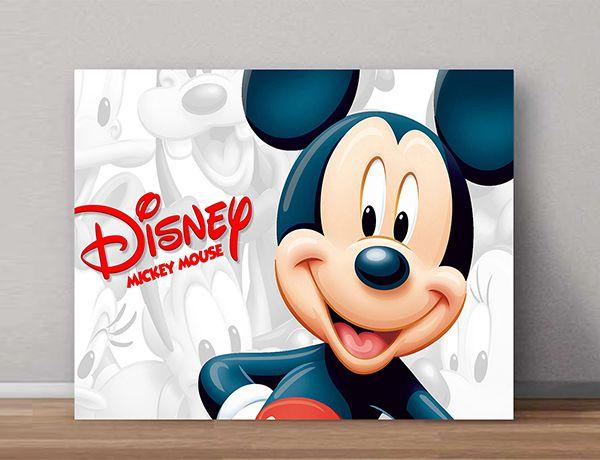 Quadro Decorativos Mickey 0012  - Paredes Decoradas