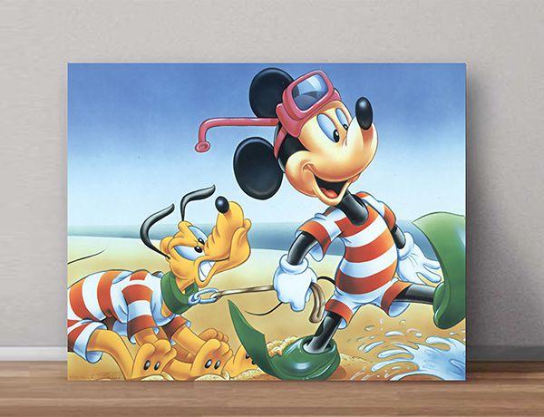 Quadro Decorativos Mickey 0013  - Paredes Decoradas
