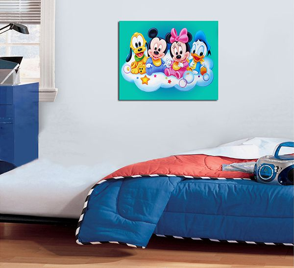 Quadro Decorativos Mickey 0014