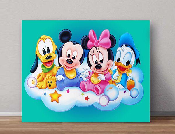 Quadro Decorativos Mickey 0014  - Paredes Decoradas