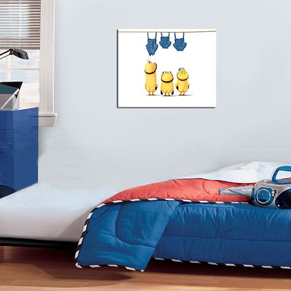 Quadro Decorativos Minions 0001  - Paredes Decoradas