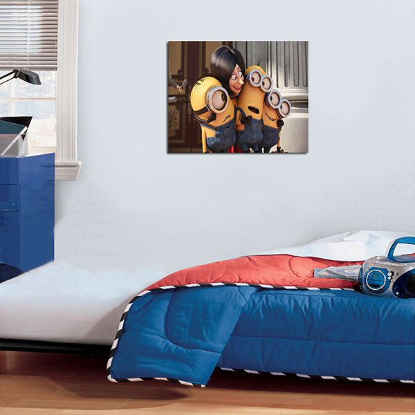 Quadro Decorativos Minions 0002  - Paredes Decoradas