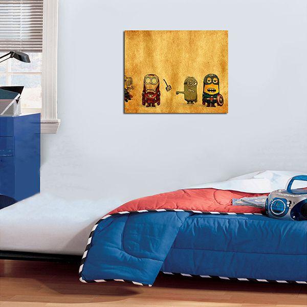 Quadro Decorativos Minions 0005  - Paredes Decoradas
