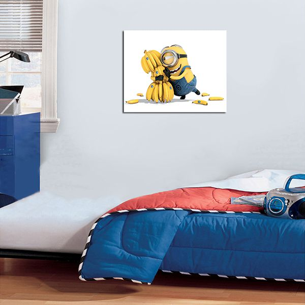 Quadro Decorativos Minions 0011  - Paredes Decoradas